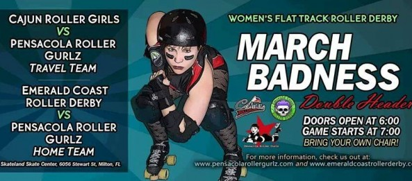 CRG heads east to face Pensacola Roller Gurlz March 29