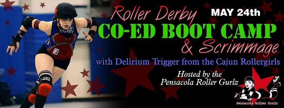 CRG's Delirium Trigger to lead co-ed roller derby boot camp in Pensacola May 24