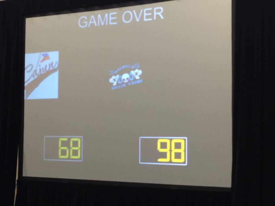 Cajun Rollergirls Take 98-68 Loss vs. Magnolia Roller Vixens