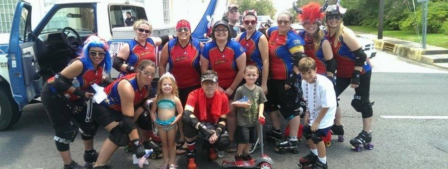 CRG in the 2014 Houma Independence Day Parade!