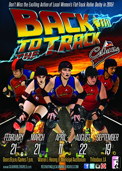 Cajun Rollergirls Announce 2015 Schedule