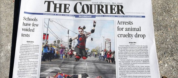 CRG is Front Page News!