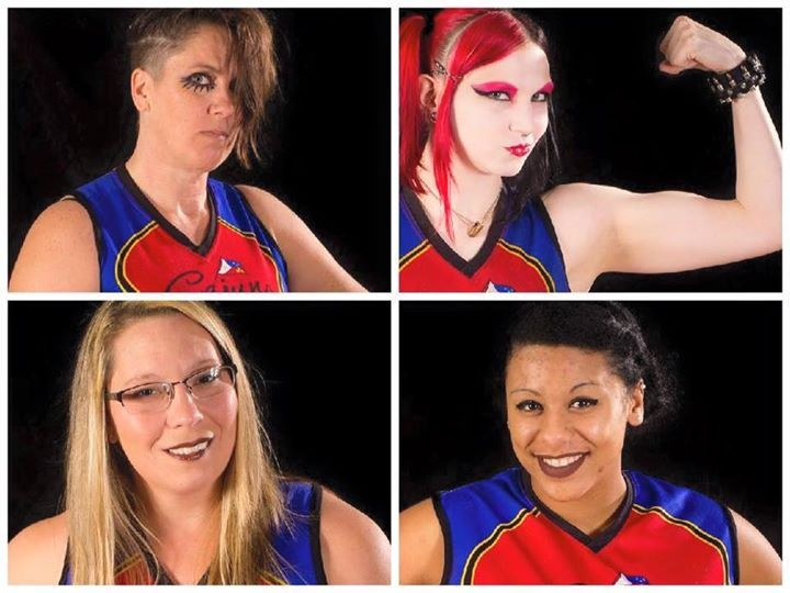 Cajun Rollergirls represent on Team Louisiana for State Wars!