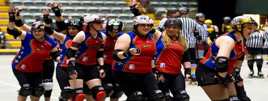 Who are the Cajun Rollergirls? Find out here!