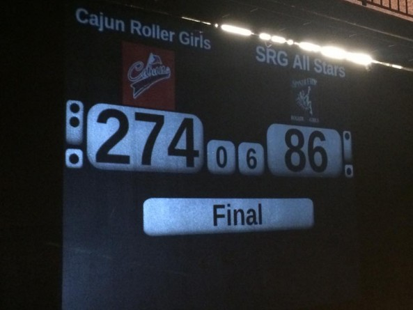 Cajun Rollergirls mess with Texas, take win over Spindletop Rollergirls