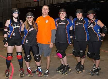 Cajun Rollergirls losing coach, 5 of 13 players after season