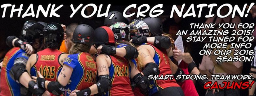 Thank you, CRG Nation! See you in 2016!