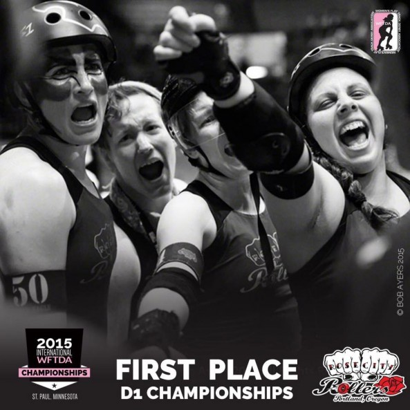 Congratulations, Rose City Rollers!