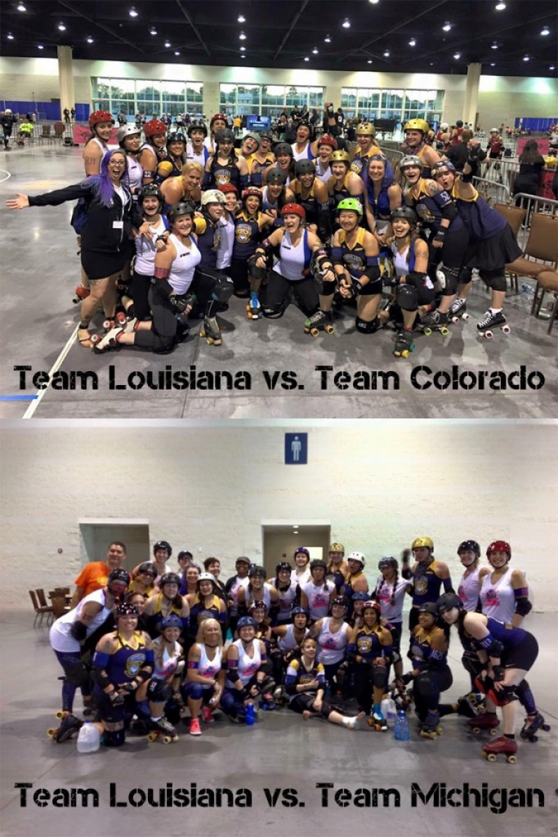 Team Louisiana at State Wars
