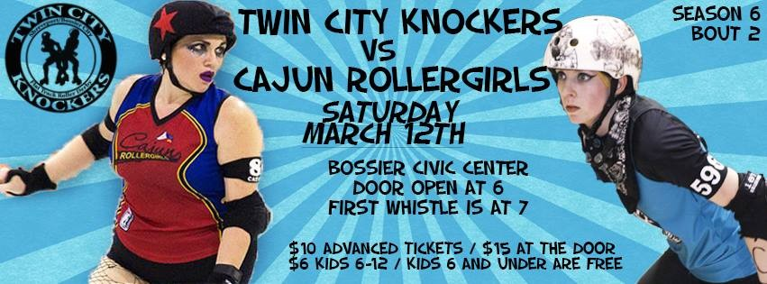 CRG Heading to North Louisiana to take on the Twin City Knockers