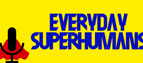 "CRG on the ""Everyday Superhumans"" podcast!"