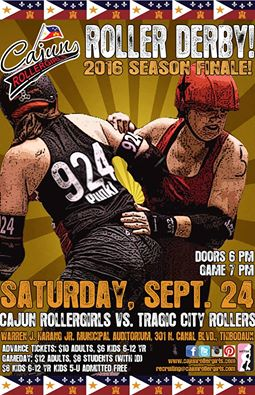 CRG to Close 2016 Season with Home Game vs. Tragic City Rollers
