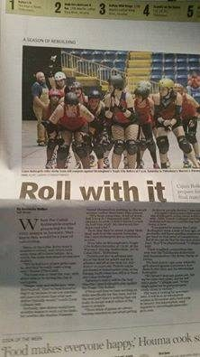 CRG in the Courier!