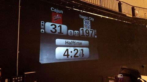 Halftime Score in Thibodaux