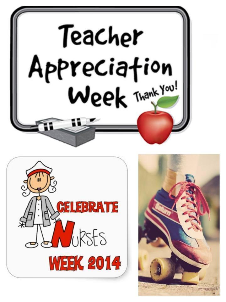 Happy Teacher Appreciation Week AND National Nurses Week from CRG!