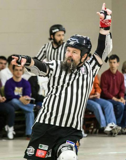 CRG's Short Fuse a Level 3 WFTDA ref!
