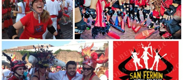 Getting ready for the Running of the Bulls!