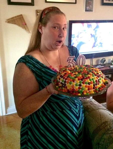 Happy birthday, Skittles!