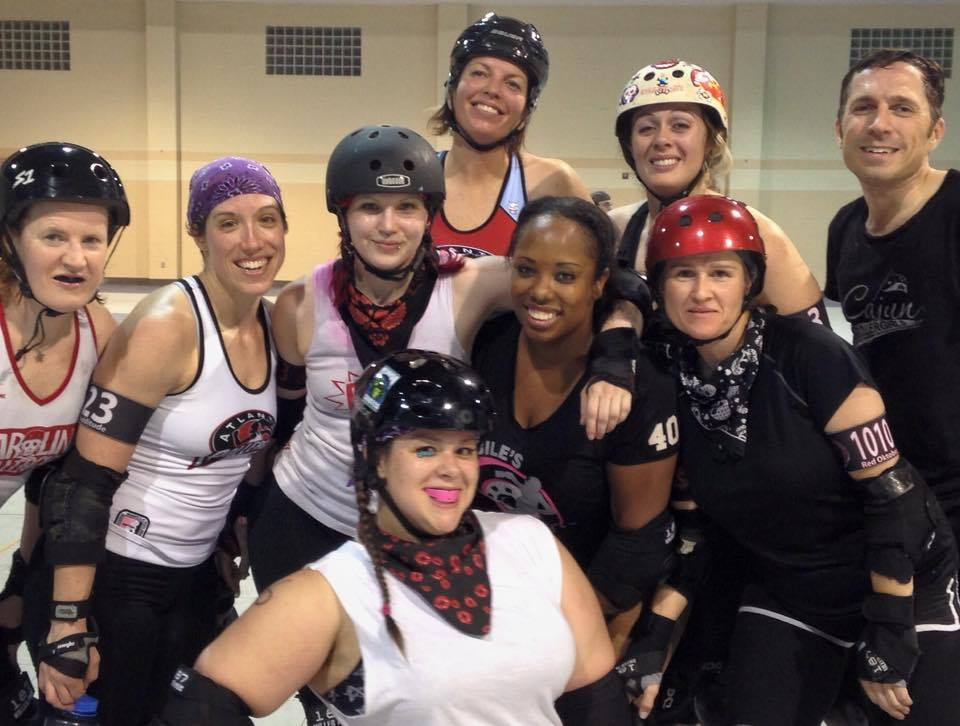 Boot campin' with NSRD & the Atlanta Rollergirls!