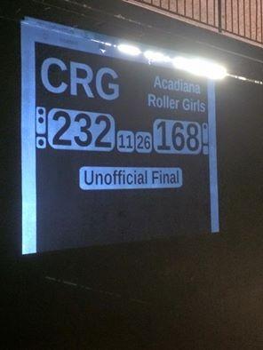 Cajun Rollergirls for the win!