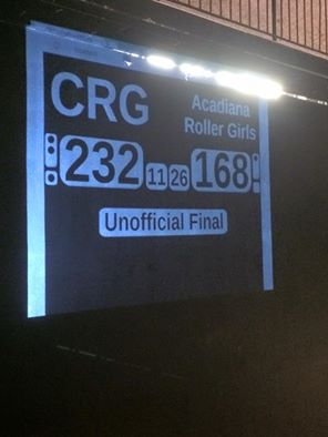 Cajun Rollergirls for the win!