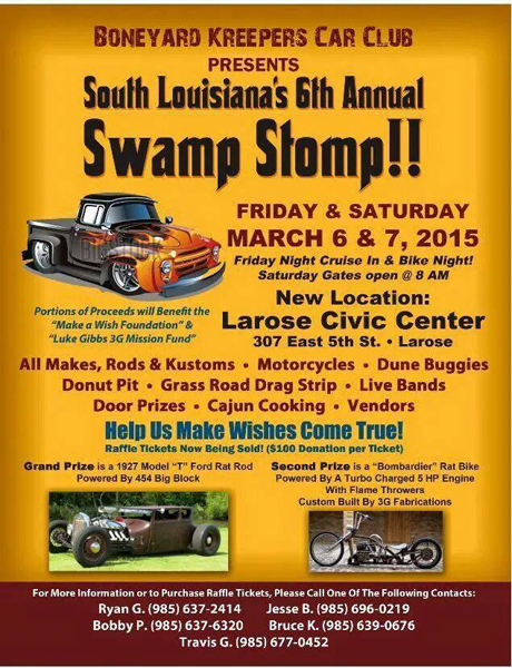 CRG at the Swamp Stomp!