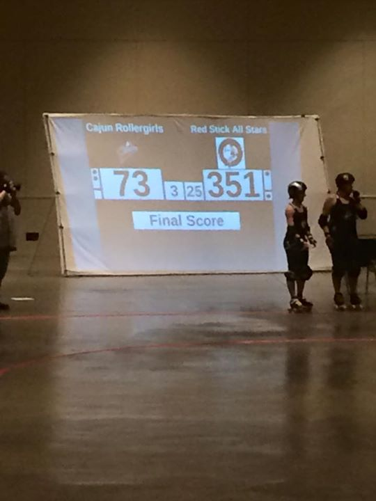 CRG Falls to Red Stick Roller Derby All-Stars in Baton Rouge