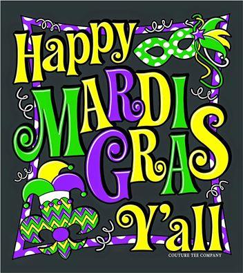 Happy Mardi Gras, CRG Nation!
