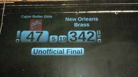 CRG falls to New Orleans Brass in Season Opener