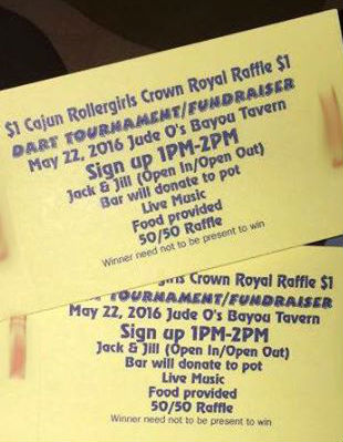 CRG to Host Dart Tournament Fundraiser May 22 @ Jude-O's