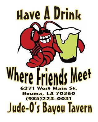 Another New CRG Sponsor – Jude-O's Bayou Tavern!