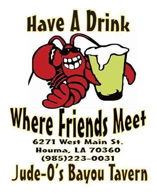 Another New CRG Sponsor – Jude-O's Bayou Tavern!