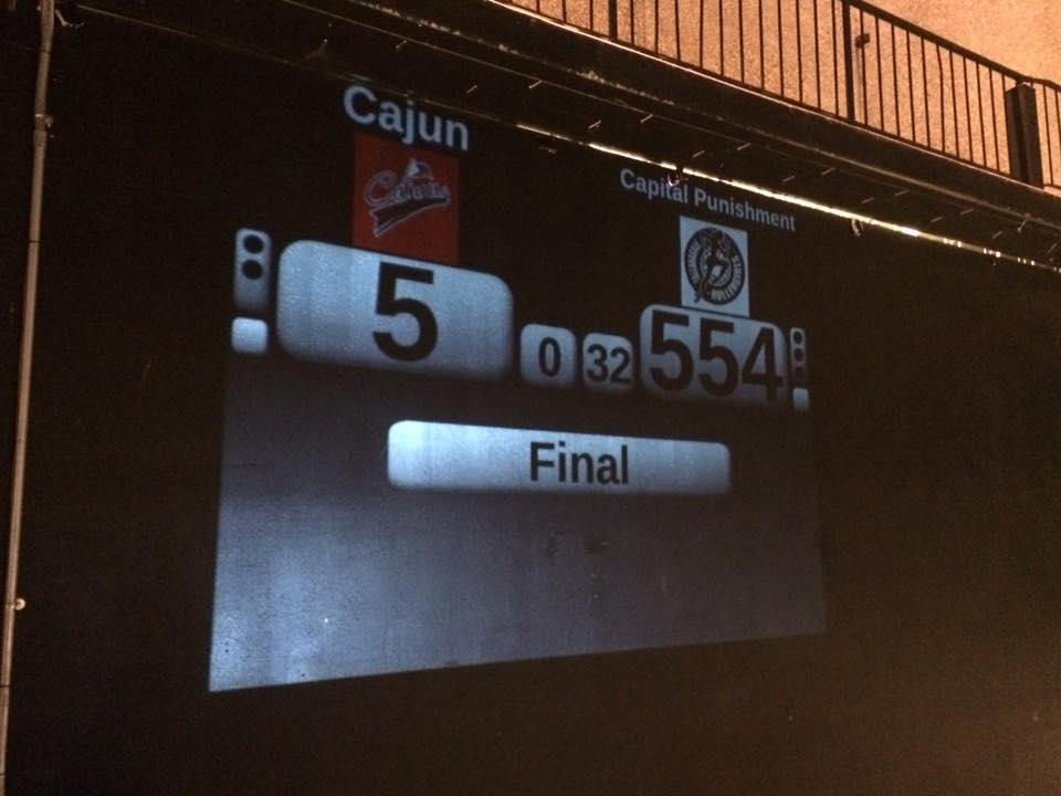 CRG Falls to Tallahassee Capital Punishment