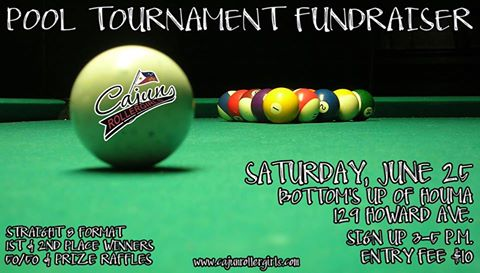 Attention all pool players! CRG wants you!