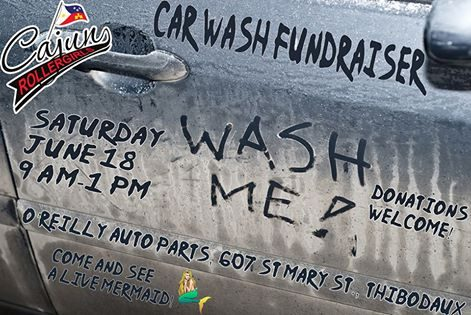 Come and get your ride washed by CRG!
